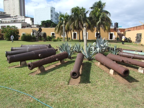 Cannon Monument  Mozambique