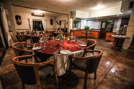 Dinning Area at Grand Kruger Lodge