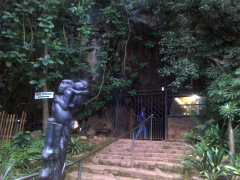 Sudwala Caves entrance
