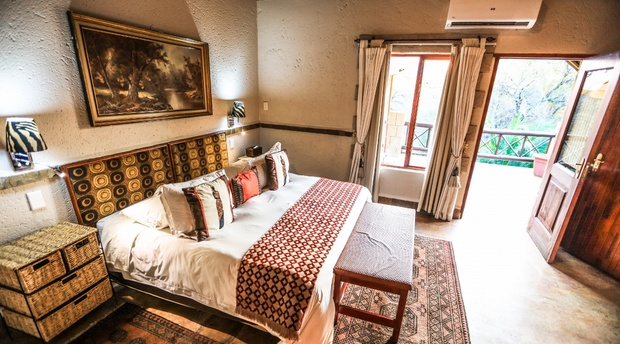 Luxury Double Suite with a Balcony at Grand Kruger Lodge