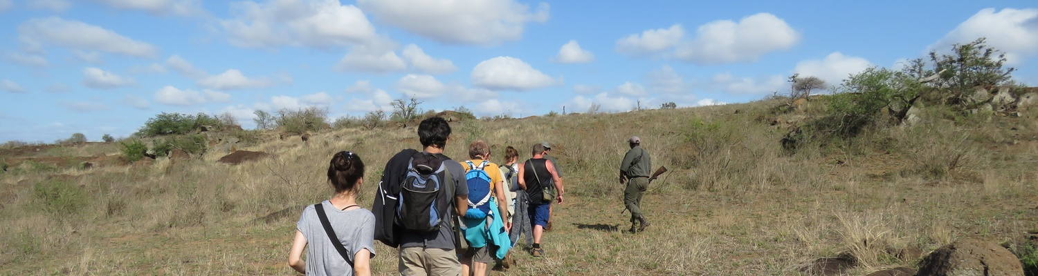 Bush Walk in the Kruger National Park....