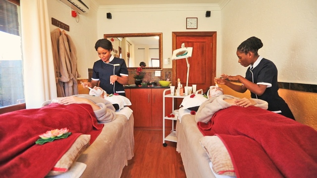Grand Kruger Lodge Spa Beauty Treatments
